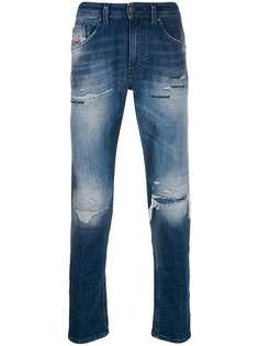 Diesel джинсы Thommer кроя слим с эффектом потертости