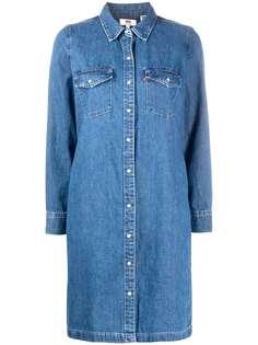 Levis джинсовое платье-рубашка Levis®