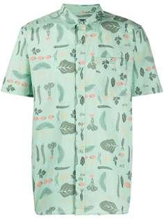 Patagonia рубашка с короткими рукавами и принтом