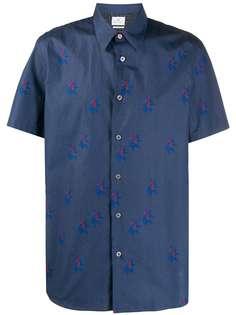 PS Paul Smith рубашка с короткими рукавами и принтом