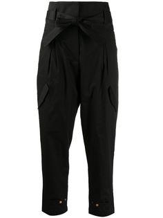 Dorothee Schumacher зауженные брюки с поясом