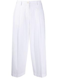 Jejia укороченные брюки прямого кроя