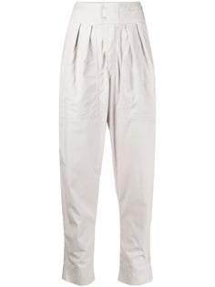 Isabel Marant Étoile зауженные брюки с завышенной талией