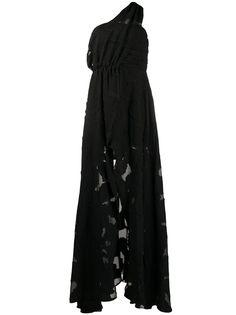 Federica Tosi вечернее платье асимметричного кроя