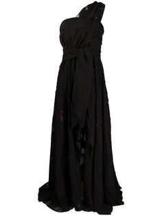 Federica Tosi коктейльное платье асимметричного кроя на одно плечо