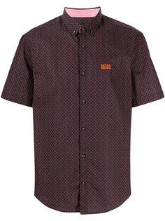 BOSS рубашка с короткими рукавами