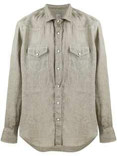 Eleventy рубашка с длинными рукавами