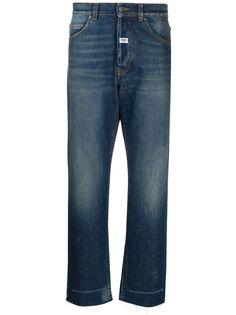 MSGM укороченные джинсы широкого кроя