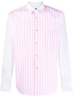 Comme Des Garçons Homme Plus полосатая рубашка с длинными рукавами