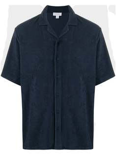 Sunspel рубашка с короткими рукавами