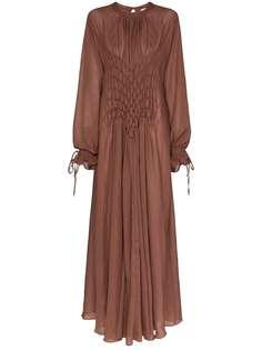 Masterpeace платье макси со сборками