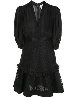 Alexis коктейльное платье Estella с вышивкой