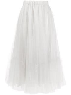 Fabiana Filippi юбка с эластичным поясом