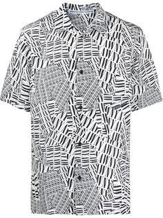 Alexander Wang рубашка с принтом