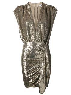 IRO коктейльное платье с пайетками