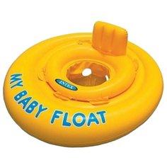 Надувные водные ходунки Intex My Baby Float 56585 желтый