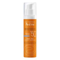AVENE флюид Dry Touch без отдушек для нормальной или комбинированной чувствительной кожи, SPF 50, 50 мл