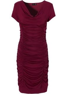 Платье с драпировками Bonprix