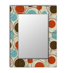 Зеркало настенное Дом Корлеоне Эмбер 04-0066-65х80 65х80 см, уф печать