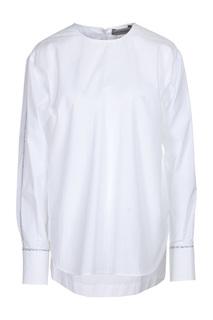 Блуза женская Max Mara 21160489 белая 42 IT