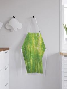 """Фартук кухонный регулируемый """"Бескрайний бамбуковый лес"""", универсальный размер Joy Arty"""
