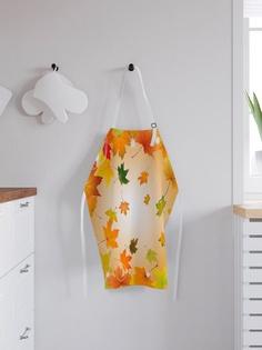 """Фартук кухонный регулируемый """"Кленовые листья"""", универсальный размер Joy Arty"""