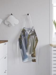 """Фартук кухонный регулируемый """"Опасный водопад"""", универсальный размер Joy Arty"""
