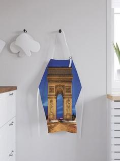 """Фартук кухонный регулируемый """"Триумфальная арка"""", универсальный размер Joy Arty"""