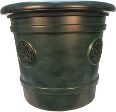 Горшок-кашпо для цветов Medallion d=50 40 л Малахит ТЕК.А.ТЕК