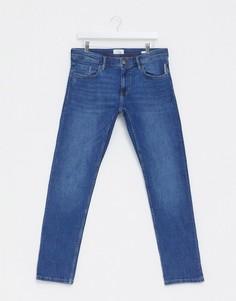 Синие узкие джинсы Esprit-Синий