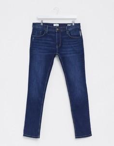 Темно-синие джинсы скинни Esprit-Синий