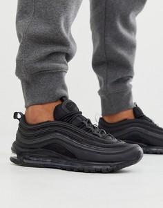 Черные кроссовки Nike Air Max 97-Белый