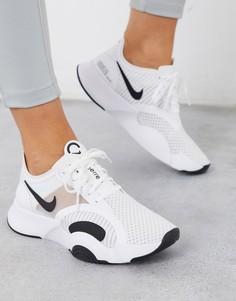 Белые кроссовки Nike Training SuperRep Go-Белый