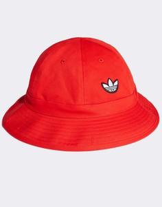Красная панама adidas Originals-Красный