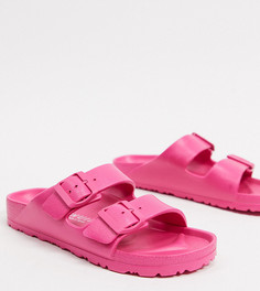 Эксклюзивные легкие шлепанцы розового цвета Genuins-Розовый