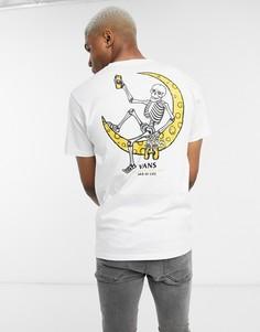 Белая футболка Vans-Белый