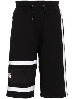 Givenchy шорты с вышитым логотипом