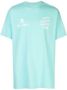 Anti Social Social Club футболка с принтом Turbo