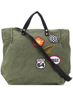 Dsquared2 сумка-тоут с нашивками