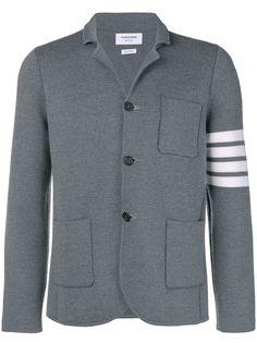 Thom Browne спортивная куртка с 4 полосками