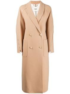 Fendi классическое двубортное пальто