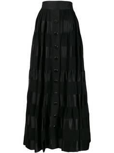 Zimmermann юбка макси Sabotage в полоску