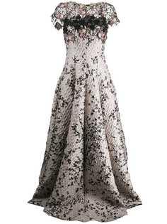 Talbot Runhof вечернее платье Toivo