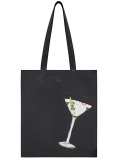 Fendi сумка-тоут с принтом логотипа