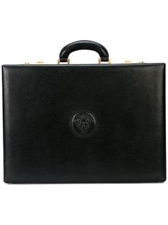 Versace Pre-Owned портфель с тисненым логотипом