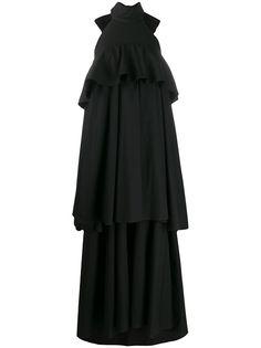 La Doublej вечернее платье Bon Bon с вырезом халтер
