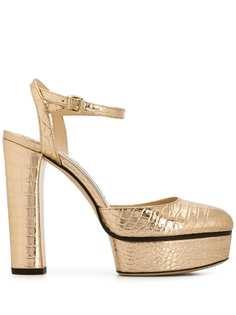 Jimmy Choo туфли Maple 125 с тиснением под кожу крокодила