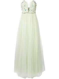 Rhea Costa вечернее платье с декором