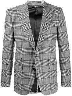 Dolce & Gabbana пиджак в клетку