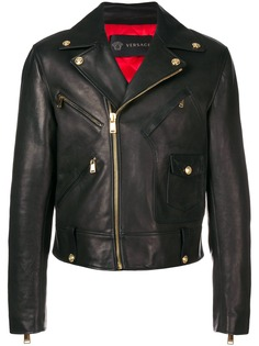 Versace байкерская куртка